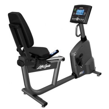 Life Fitness RS1 recumbent LifeCycle Go console
