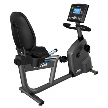 Life Fitness RS3 recumbent LifeCycle Go console
