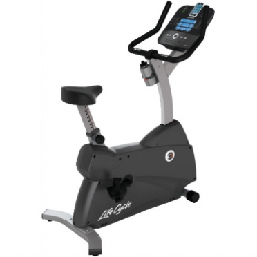 Life Fitness Exercise Bike LifeCycle C1 Track Console display