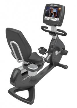 "Life Fitness ligfiets recumbent 95R Engage 15"" (used model)"