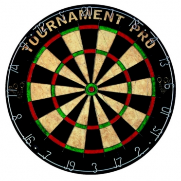 Tunturi Dartboard Bristle 'Tournament Pro' 14TUSGA035
