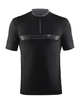 Craft Pulse spinning shirt short sleeve black men