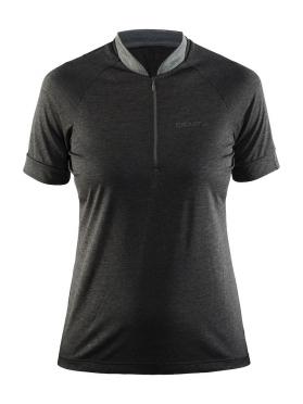 Craft Pulse spinning shirt short sleeve black women