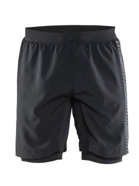 Craft Grit running shorts black men