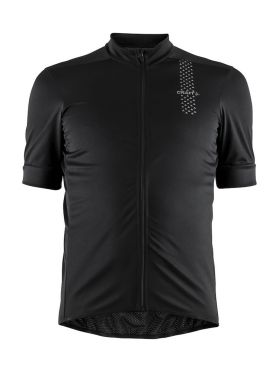 Craft Rise cycling jersey black men Kopie