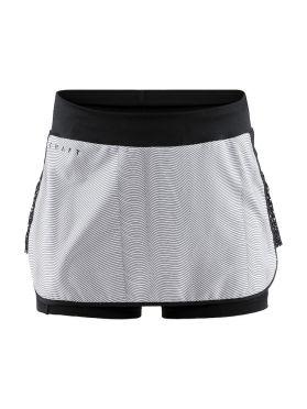 Craft Charge running skirt black/grey women