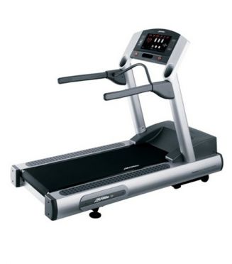 Life Fitness treadmill 93T used