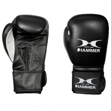 Hammer boxing gloves leather premium fight