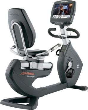Life Fitness recumbent bike 95R Engage used