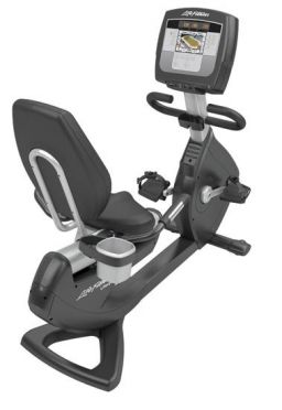Life Fitness recumbent bike 95R Inspire used