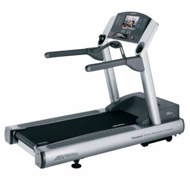 Life Fitness treadmill 95Te used