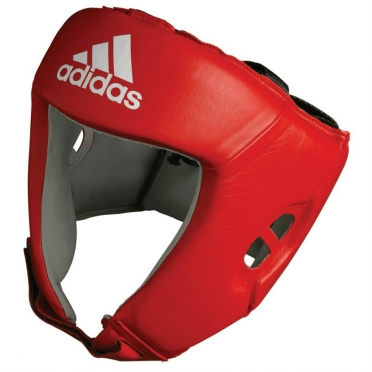 Adidas AIBA Head Protector Red