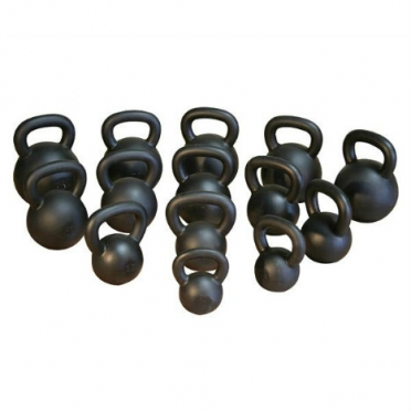 Body Solid Kettlebell cast iron black 1 x 12 kg (KB12)