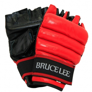 Bruce Lee Boxing Mitt cut fingers 14BLSBO030