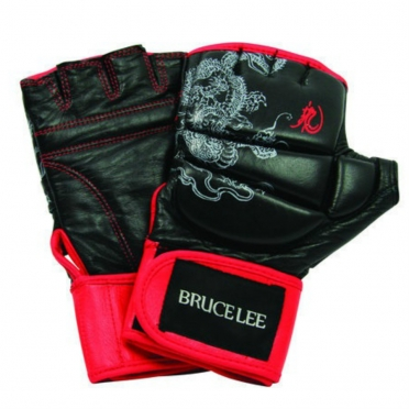 Bruce Lee Deluxe MMA grappling gloves 14BLSBO024