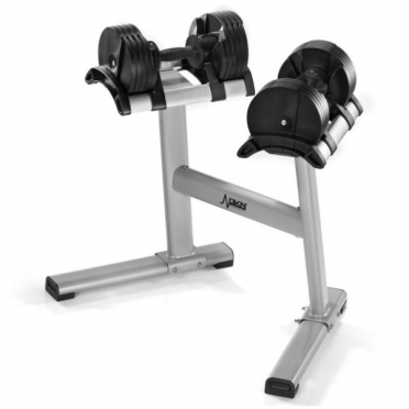 DKN adjustable dumbbell set TwistLock 2x 20 kg (20243)