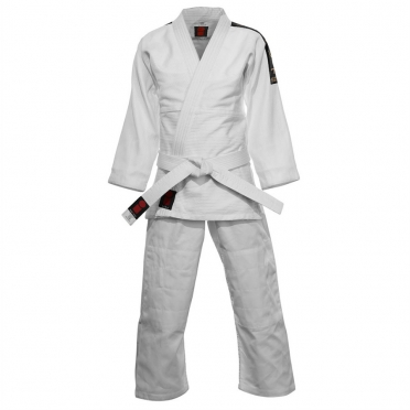 Essimo Judo Suit Koka with shoulderbadges ESSJSKOL
