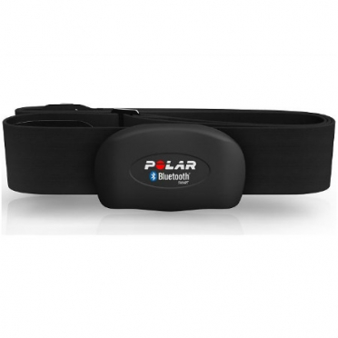 Polar H7 Bluetooth heart rate sensor black with Polar Beat