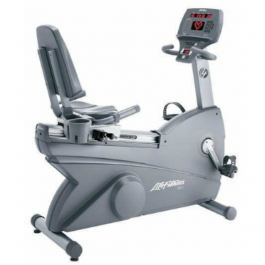 Life Fitness recumbent bike 93R used