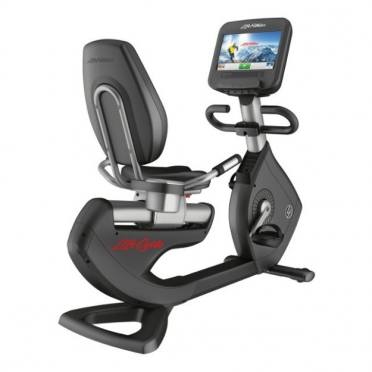 LifeFitness Recumbent Bike Platinum Club Series Discover SE WIFI PCSRE