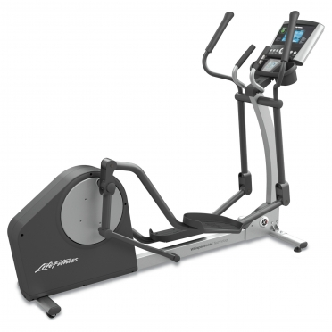 Life Fitness elliptical crosstrainer X1 Go Console display (DEMO)