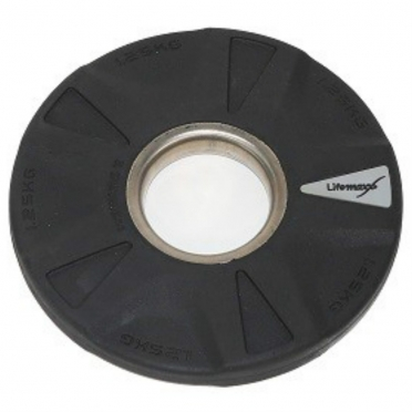 Lifemaxx Olympic Discs Rubber coated 5 grip 1,25 kg LMX 92