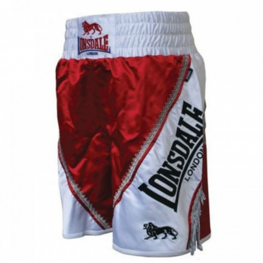 Lonsdale Trunk Large Logo Braid Red 402421