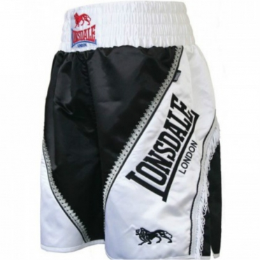 Lonsdale Trunk Large Logo Braid Black/White 402427
