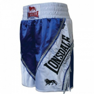 Lonsdale Trunk Large Logo Braid Blue/White 402408