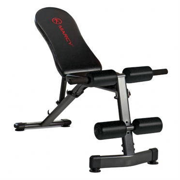 Marcy Deluxe utility weight bench