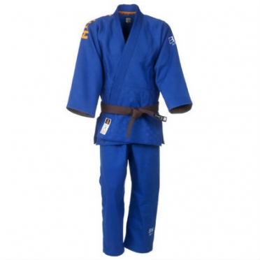 Nihon judo/jiu jitsu suit competition GI blue