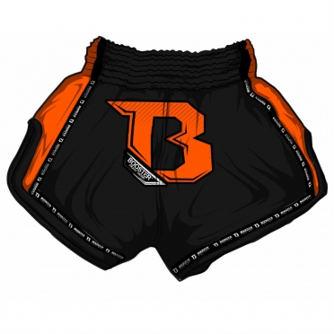 Booster TBT Pro thai shorts black/orange