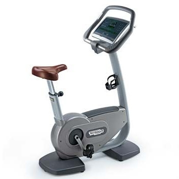 TechnoGym hometrainer Bike Excite 700i classic silver with LCD TV used