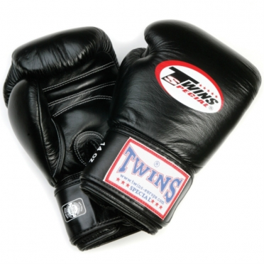 Twins BG-N boxing gloves black
