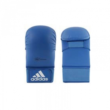 Adidas karate gloves WKF blue without thumbs