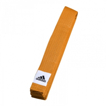 Adidas budo belt club orange