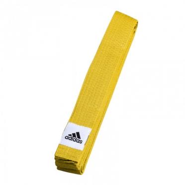 Adidas budo belt club yellow
