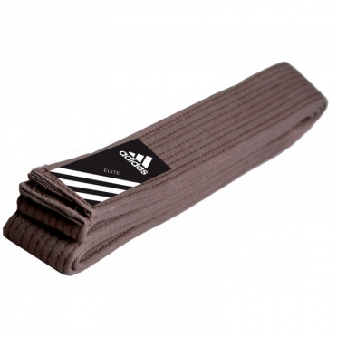 Adidas judo belt elite 45mm brown