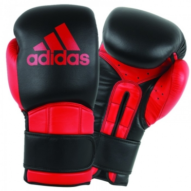 Adidas Safety Sparring (kick)boxing gloves Velcro black/red