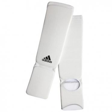 Adidas Shinguards Elastic Shin-n-Step Red White