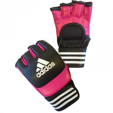 Adidas Ultimate MMA gloves pink / black
