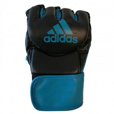 Adidas Traditional Grappling Boxing Gloves black/blue