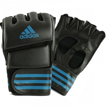 Adidas Grappling Training Boxing Gloves black/blue