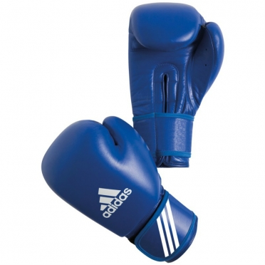 Adidas AIBA Boxing Gloves Blue (competition)