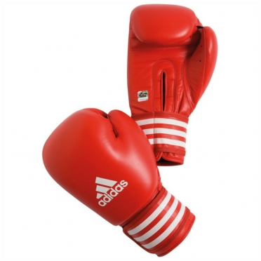 Adidas AIBA Boxing Gloves Red (competition)