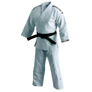 Adidas judo uniform J800 white