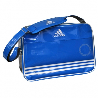 Adidas Sport Bag Shiny Dark Blue/White/Silver