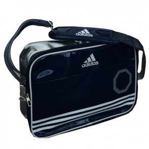 Adidas Sport Bag Shiny blue/white/silver