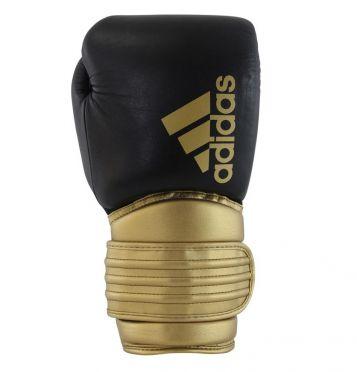 Adidas Hybrid 300 (kick)boxing gloves black/gold
