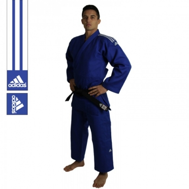 Adidas judo suit Champion II IJF Approved blue